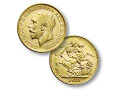 British Sovereign Gold Coins