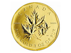 Canadian Gold Bullion