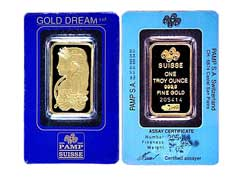 PAMP Gold Bars: Swiss Quality Is the Best!