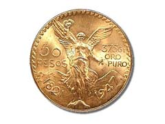 50 Pesos Gold Coin