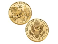 Five Dollar Gold Coins