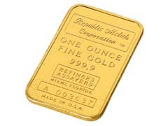 1 oz Gold Bullion Wafer