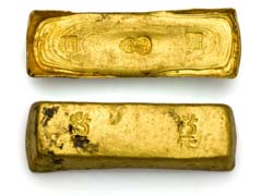 Gold Ingots For Sale