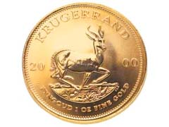 Gold Krugerrands For Sale