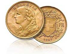 Swiss Gold Coins