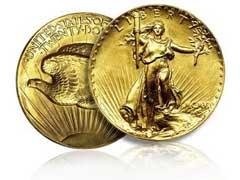 St Gaudens Gold Coins